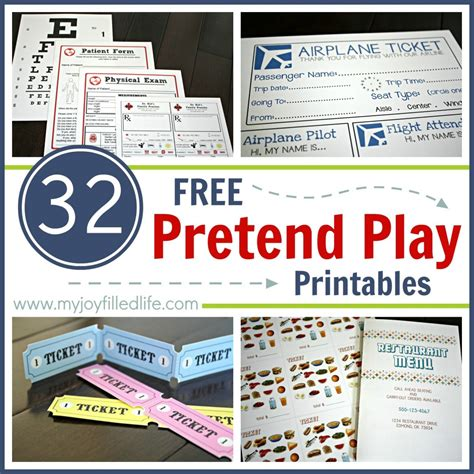 printable bus tickets for role play 32 free pretend play printables my joy filled life