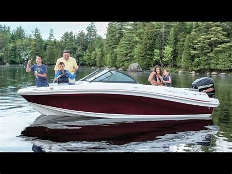 tahoe boat reviews tahoe boats 2016 550 tf power boat television review doovi