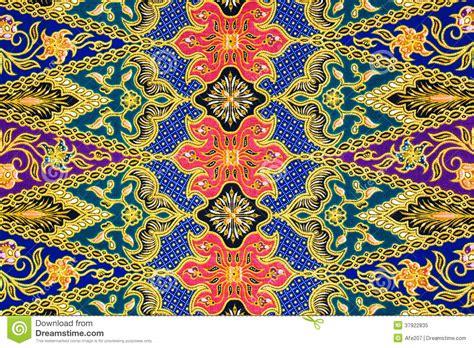 batik fabric pattern batik sarong pattern background in thailand traditional