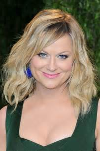Amy poehler with shoulder length hair pascal le segretain for getty