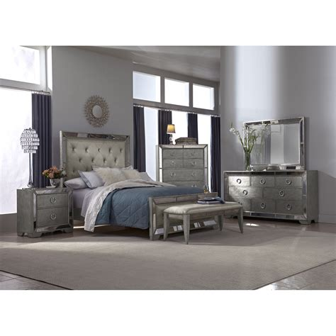 hayworth bedroom furniture hayworth mirrored bedroom furniture collection raya
