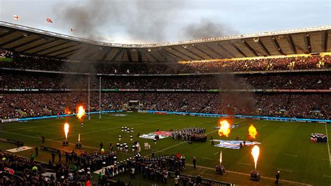 rugby twickenham stadium england  scotland opening game ceremony  hd rugby