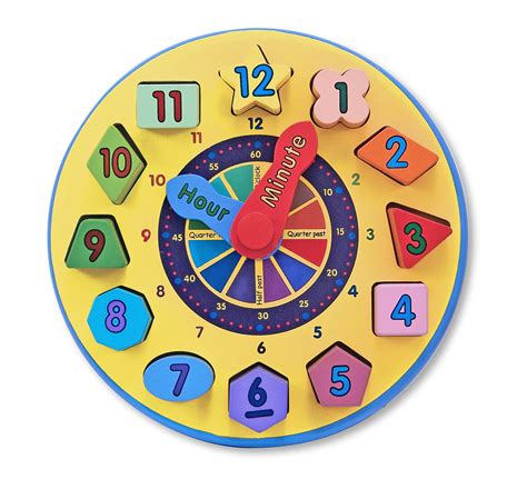 printable toy clock tell time preschool learning happy and blessed home