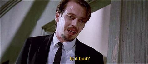 steve buscemi reservoir dogs gif find on giphy
