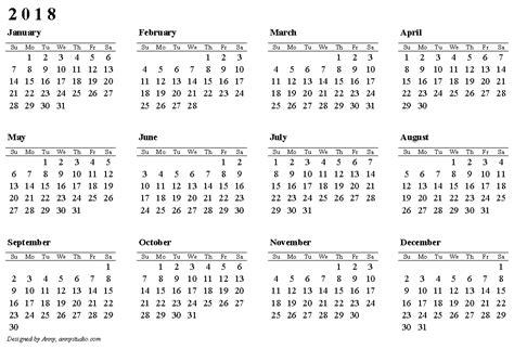 online printable photo calendar free printable calendar 2018