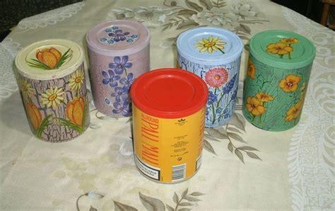 como decorar latas de tabaco latas de tabaco manualidades