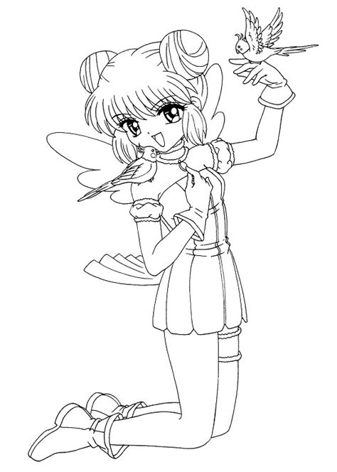 Printable Anime Coloring Pages Coloring Me Anime Printable Coloring Pages