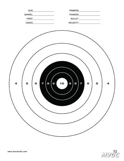 printable rifle targets printable pistol targets 8 5 x 11 printable 8 5 x 11