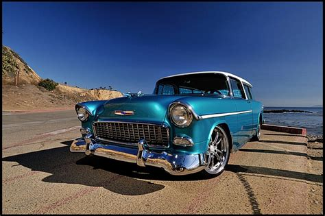 Vehicle Re Upholstery Stunning Corvette Powered Chevrolet Nomad Going Under The