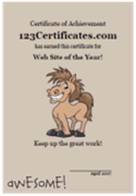cute animal certificate templates