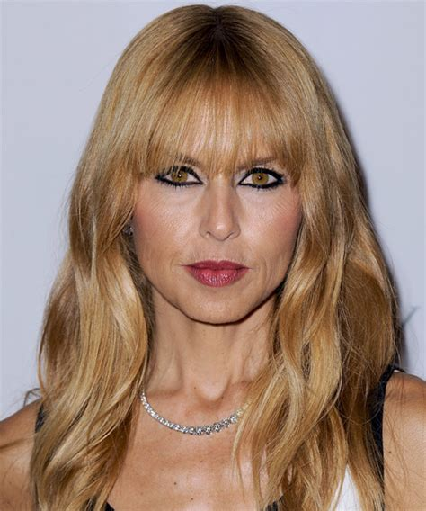 how to cut bangs like zoe rachel zoe long straight casual hairstyle with blunt cut