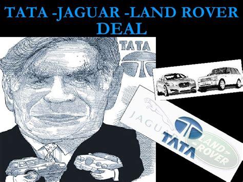 tata jaguar deal tata jlr