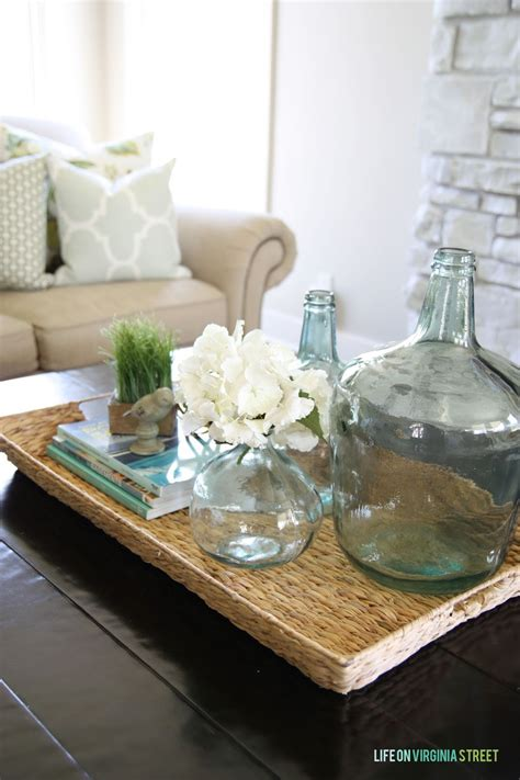Coffee Table Decor Tray by Remodelaholic Why You Should Use Trays In Your Home Decor