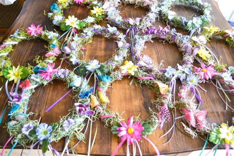 Hanging Pictures Ideas by Diy Woodland Fairy Crowns Flour On My Face