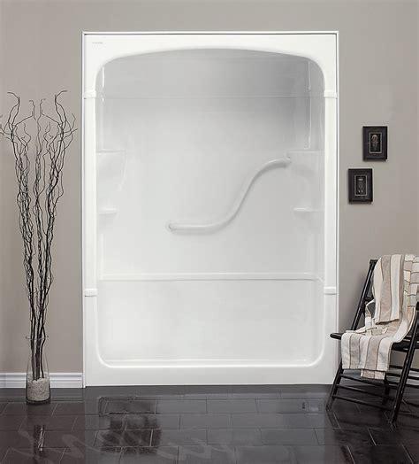 mirolin madison    piece acrylic shower stall