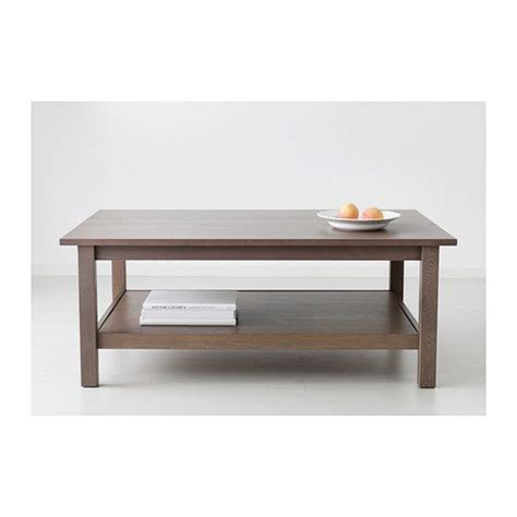 hemnes coffee table black brown