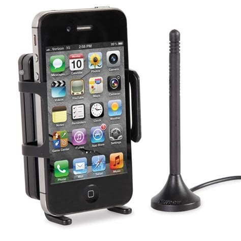mobile signal booster the driver s cell phone signal booster hammacher