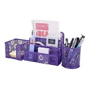 Purple Desk Accessories Desk Accessories For