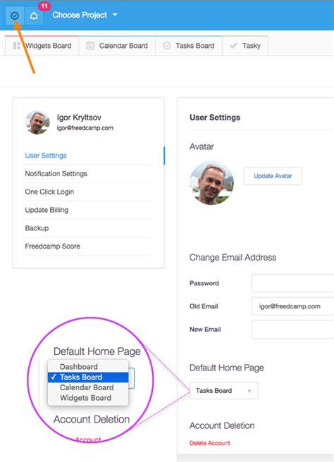 set your home page in freedc freedc freedc