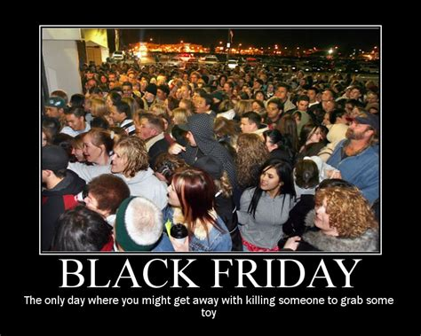 Black Friday Shopping Meme - a van dweller s view of consumerism in the christmas