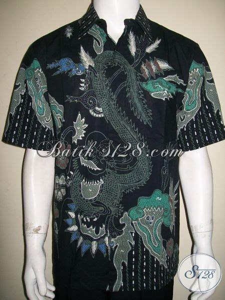 Baju Batik Hitam baju batik naga warna hitam modern mantap dan garang ld1361t l toko batik 2018