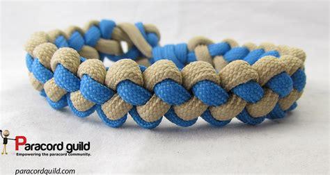 Square Knot Sinnet - zipper sinnet paracord bracelet paracord guild