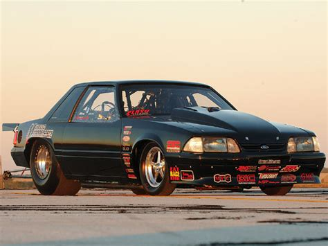 fox mustang drag car mike murillo s 10 5 outlaw 5 0