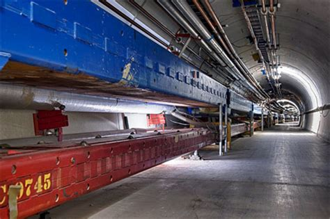 fermilab s village houses and the large hadron collider cern the european organization for nuclear research