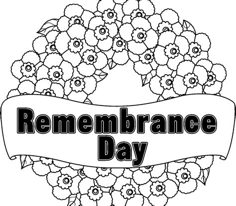 printable coloring pages remembrance day remembrance day coloring pages az coloring pages