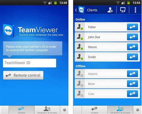 teamviewer apk android teamviewer for android 28 images best remote access apps for android android authority