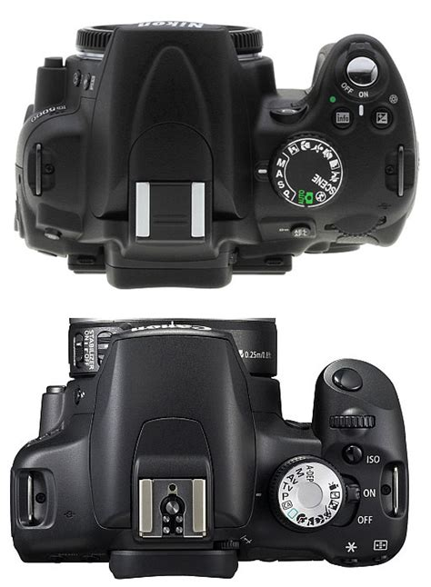 Perbandingan Lensa Nikon Vs Canon canon 500d vs nikon d5000 dunia digital