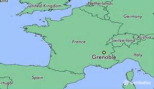 Grenoble France Map by Where Is Grenoble France Where Is Grenoble France