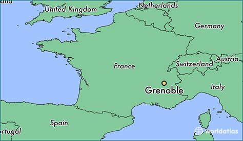 map of grenoble where is grenoble where is grenoble