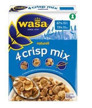 Multigrain Mix 500 Gr wasa 4 crisp mix naturell med n 230 ringsinnhold oppskrifter