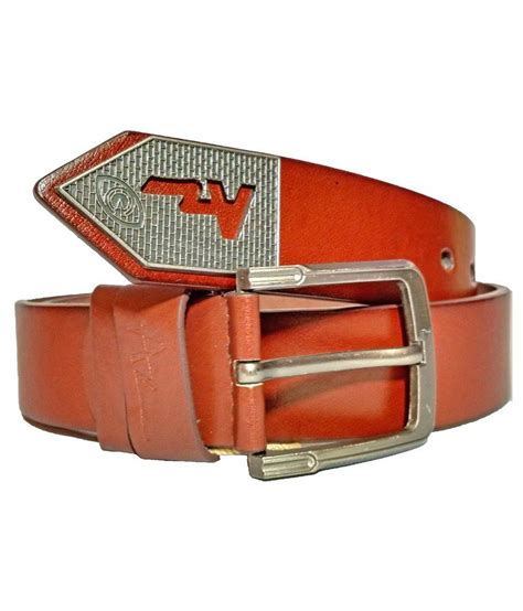 az brown non leather belt buy at low price in