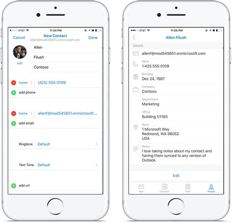 how to edit contacts on android improving in outlook for ios and android office blogs