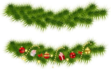 xmas swag png transparent pine garlands gallery yopriceville high quality images and transparent