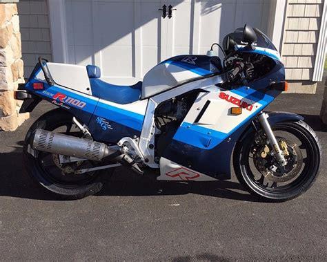 Suzuki Side By Side For Sale 1986 Suzuki Gsx R 1100 R Side Sportbikes For Sale