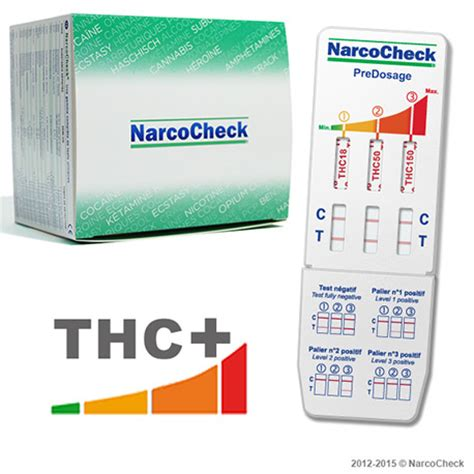 Best At Home Test Thc by Thc Predosage Test 3 Detection Levels Narcocheck
