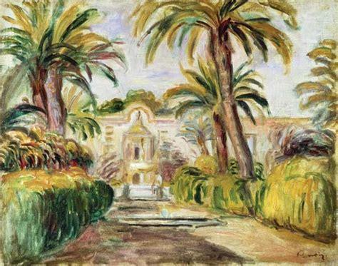 plaque plexiglass sur mesure 1841 the palm trees auguste renoir