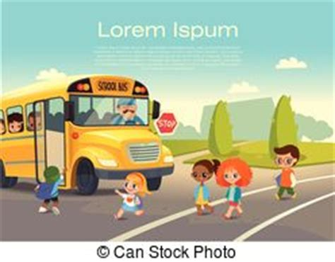 Kinder Auto Regeln by Vektoren Illustration Schule Illustration Fahren