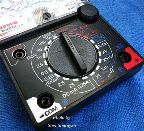 Multi Tester Sinseiki Yx 360tr multitester แบบเข ม ย ห อ sunma yx 360tr e l b