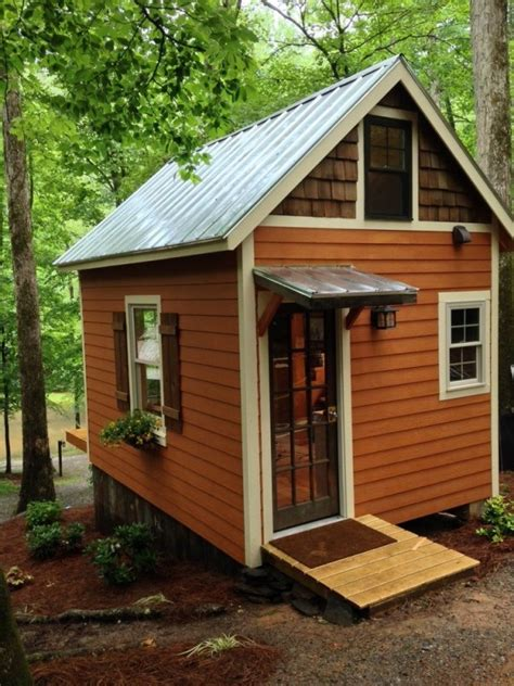 Otter Cabin House by The 180 Sq Ft Otter Den Tiny House