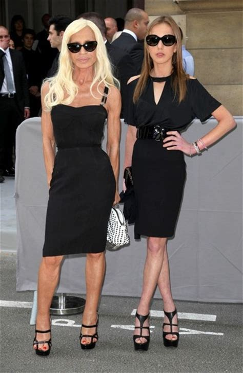 Donatella Versaces Admitted To Hospital For Anorexia by Donatella Versace And Allegra Versace Photos Photos