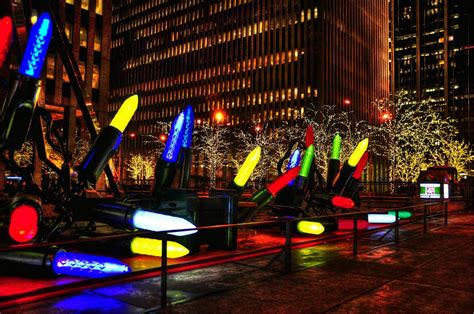 manhattan holiday decorations by randy aveille