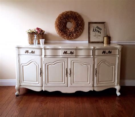white shabby chic buffet shabby roots boutique - Buffet Shabby Chic