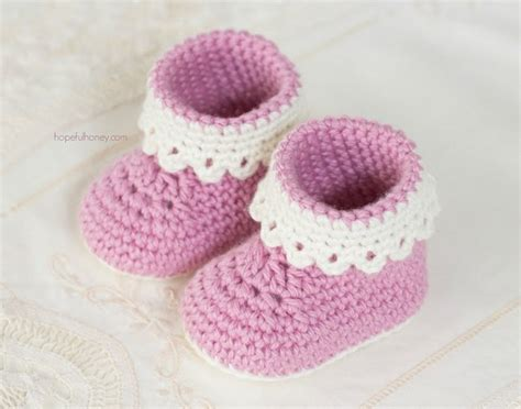 baby crochet shoes free pattern beautiful and dainty crochet baby booties free pattern