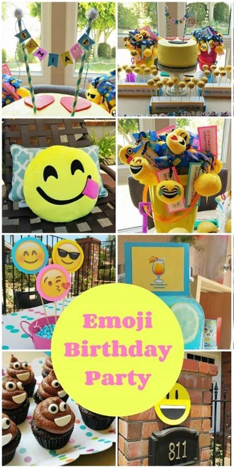 Home Decor Games Online For Adults by Emoji Birthday Party Ideas Diy Inspired