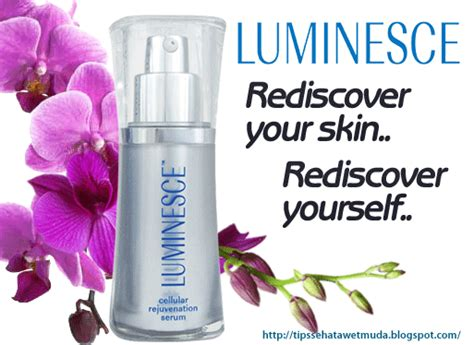 Serum Wajah Luminesce tips awet muda luminesce skin illuminating rejuvenating