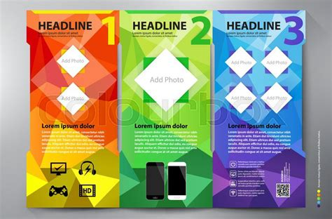 leaflet design wikipedia polygon brochure leaflet design tri fold template vector